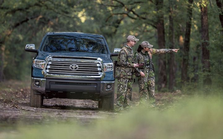 Edmunds' Jessica Caldwell predicted year-end purchases of large trucks such as the Toyota Tundra — and higher trim levels in every category — will push average transaction prices higher as interest rates decline.  - Photo courtesy Toyota Motor Sales USA