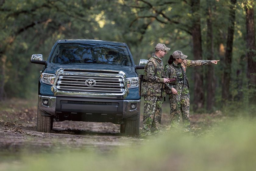 Edmunds' Jessica Caldwell predicted year-end purchases of large trucks such as the Toyota Tundra...