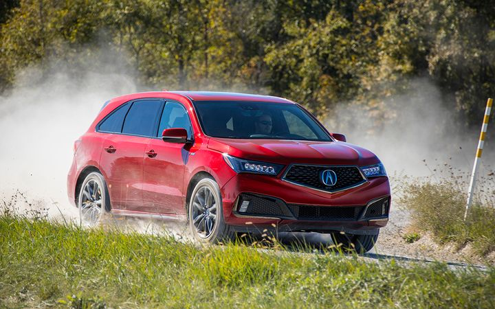 Average transaction prices for the Acura MDX fell by 7% year-over-year in November, one of a number of brands and models slowing the growth of new vehicle prices industrywide.  - Photo courtesy American Honda Motor Co.