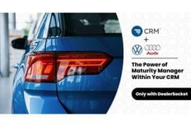 DealerSocket's CRM Selected by Volkswagen Credit and Audi Financial Services for Integration with Maturity Manager