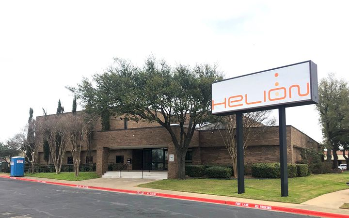 Helion Technologies is expanding its Dallas operations and moving into a newly renovated facility in Garland, Texas. - Image courtsey of Helion Technologies