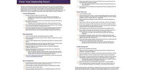 AutomotiveMastermind: 36-point COVID-19 Checklist