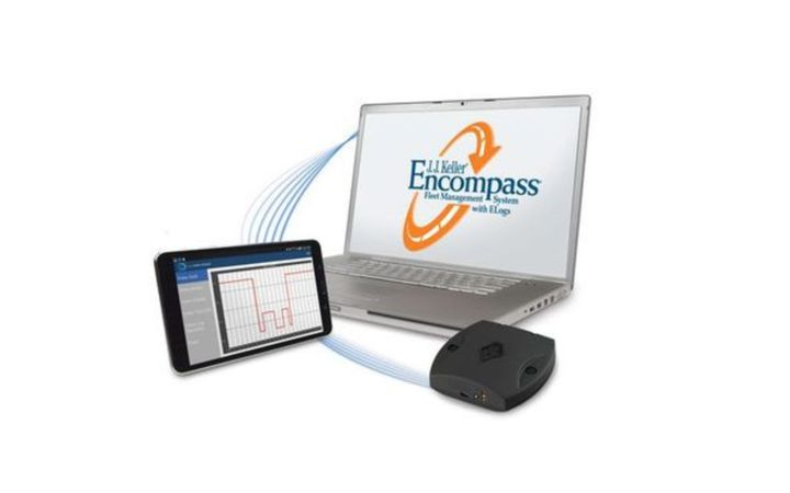 To provide regulated and non-regulated fleets with 24/7 visibility to their vehicles' GPS location, speed, and status, J.J. Keller has launched Encompass® Vehicle Tracking.  - Image courtesy of J.J. Keller