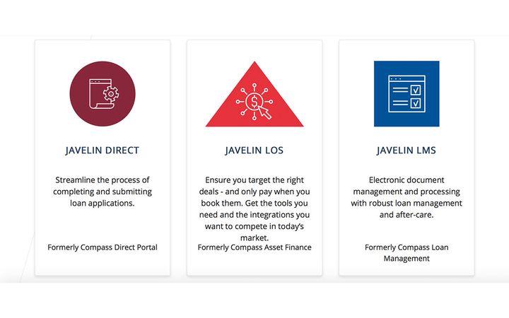 Inovatec Systems Corporation rebrands its compass lending platform as JAVELIN. - IMAGE: Inovatec.com