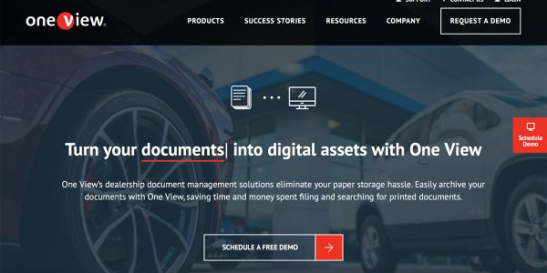 The web-based vendor contract and storage management platform specifically for vehicle dealerships.