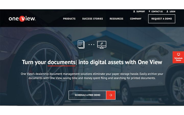 The web-based vendor contract and storage management platform specifically for vehicle dealerships. -