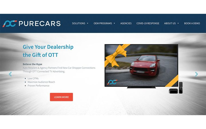 Growing medium offers low CPM, dynamic messaging, & segmented data for personalization & reach. - IMAGE: PureCars.com