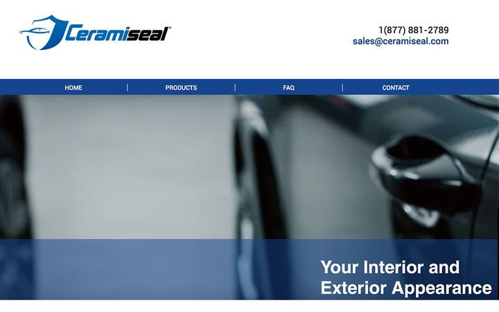 Ceramiseal's paint and fabric protection combines ceramic and nano diamond technologies to provide protection inside and out, backed by science, to keep vehicles looking new.  - IMAGE: Ceramiseal.com