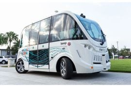 Beep and Local Motors Expand Autonomous Shuttle Fleet and Testing with Olli