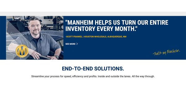 Powered by vAuto, the new Manheim Dashboard gives Provision clients a leg up on the competition...