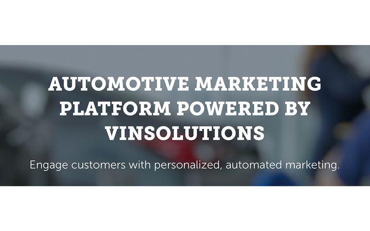 Automotive marketing platform powered by VinSolutions uses automation and AI to help optimize marketing efforts across dealership department. - IMAGE: VinSolutions.com