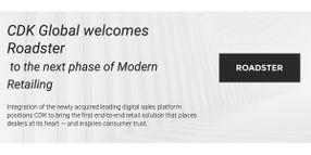 CDK Global Acquires Digital Retail Platform Roadster