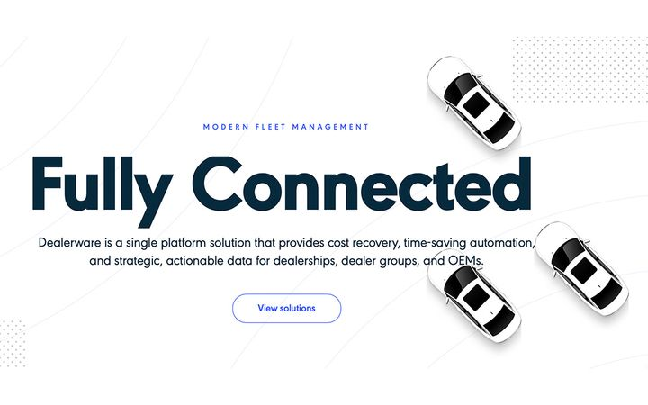 Dealerware's connected car platform will be available to help all 3,000+ Ford and Lincoln dealerships in the U.S. recover costs and deliver exceptional customer experiences. - IMAGE: Dealerware.com