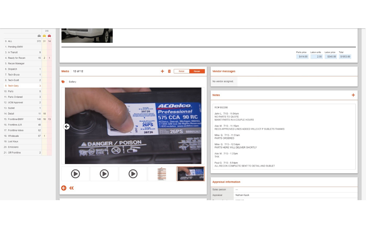 Easier Media Tagging from Rapid Recon Delivers Faster Repair Approvals