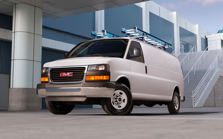 CornerStone United has released a new series of service contracts designed specifically for oft-excluded units, including such commercial vehicles as the GMC Savana cargo van.   - Photo courtesy General Motors Co.