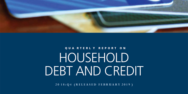 The Federal Reserve Bank of New York's Q4 consumer debt report reflects historic growth and...