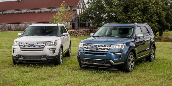 The Explorer is one of five Ford vehicles hit with increased average lease payments this month...