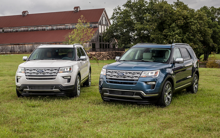 "The Explorer is one of five Ford vehicles hit with increased average lease payments this month after the factory pulled back from ""generous"" discounts offered in March, according to the latest report from Wantalease.com. 
