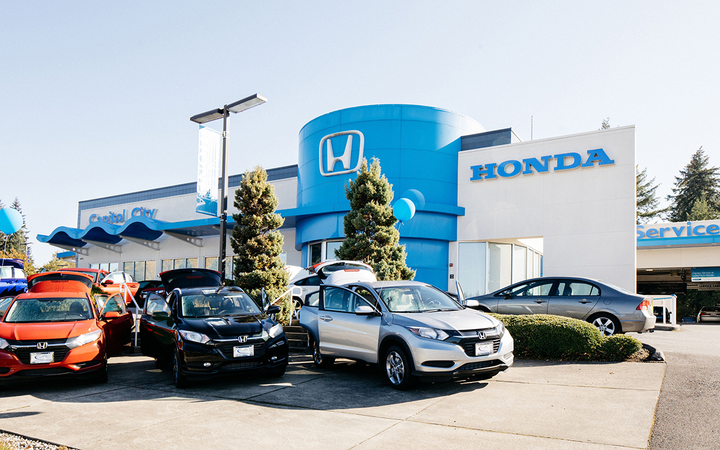 Capitol City Honda in Olympia, Wash., is among the latest additions to Binary Automotive Solutions' dealer network.   - Photos courtesy Capitol City Honda