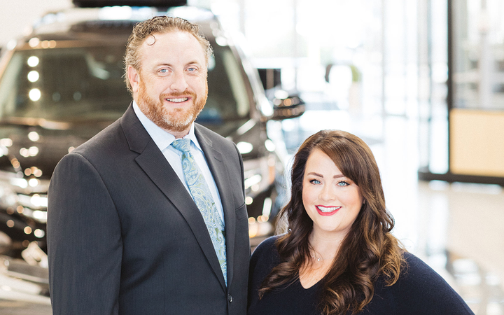 Husband and wife Chris and Kelly Levesque serve as Capitol City's general manager and principal.   -