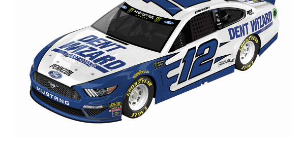 Dent Wizard's branding will adorn Team Penske's No. 12 Ford Mustang for two races in NASCAR's...
