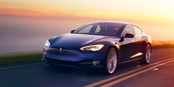 Tesla had the highest average credit score among used-car buyers in 2018, according to the...