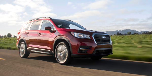 Sales of the new Ascent SUV helped boost Subaru's average transaction prices by 5% in May.