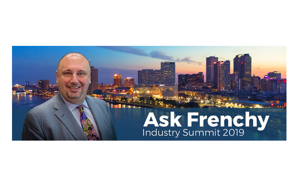 'Ask Frenchy' Returns to Industry Summit, Seeks Competitors