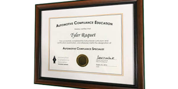 Registered attendees are once again invited to earn Automotive Compliance Education...