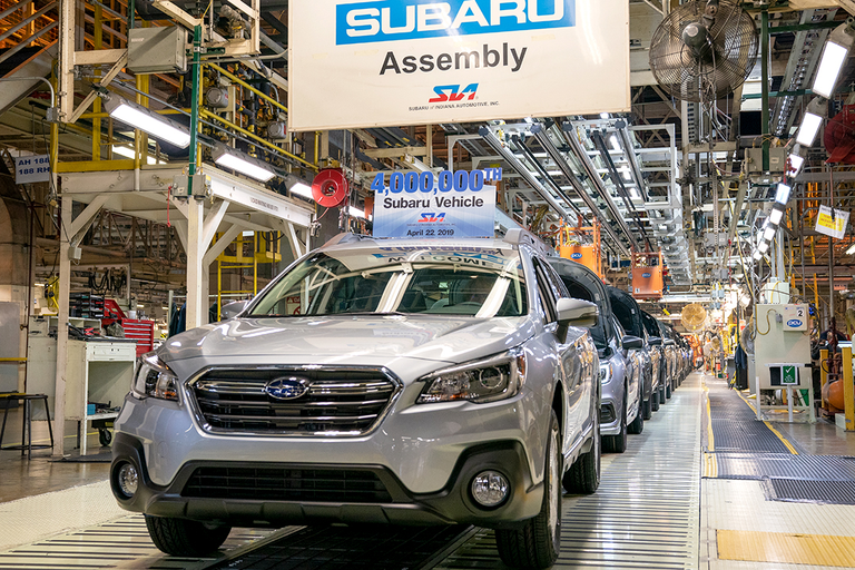 Subaru scored two percentage points higher than any other marque in J.D. Power's inaugural U.S....