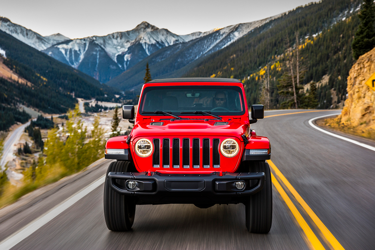 The Jeep Wrangler is Kelley Blue Book's No. 1 most awarded vehicle for 2019.
