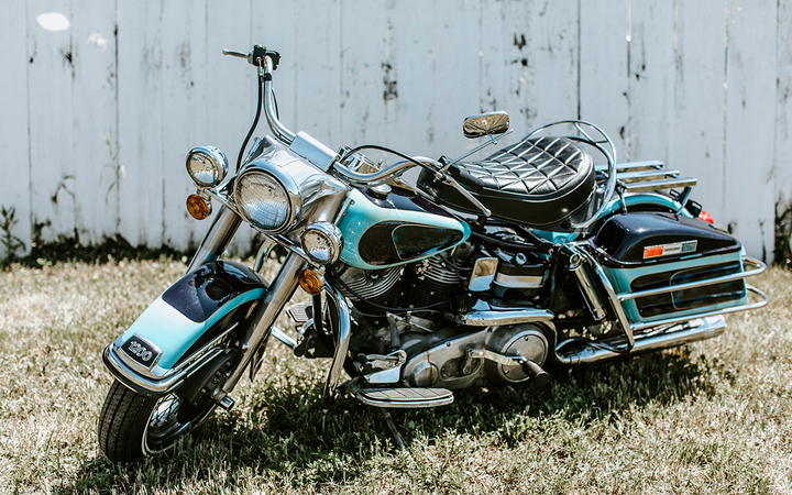 Presley's last motorcycle was a 1976 Harley-Davidson Electra Glide housed by South Dakota's Pioneer Auto Museum since the late '80s. 