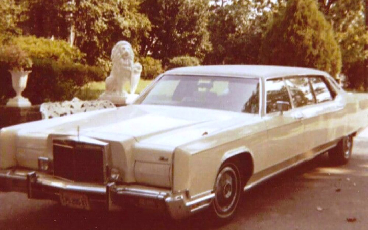 Elvis Presley's personal '73 Continental limo was a fixture at Graceland and around Memphis. 