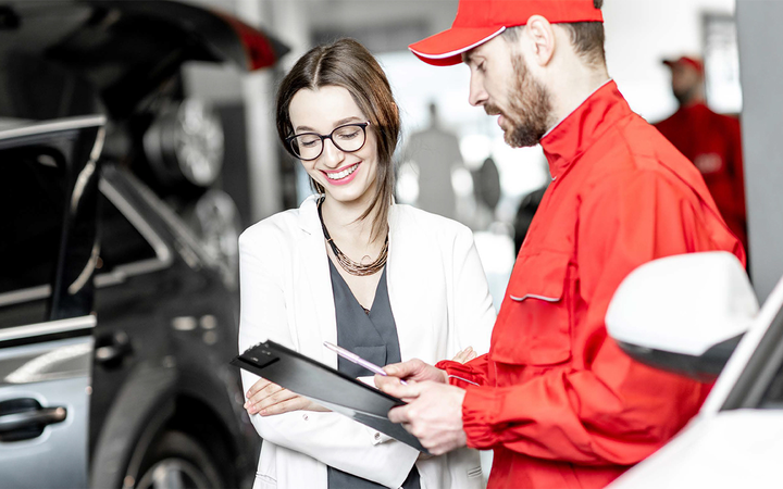 A new whitepaper from Affinitiv makes the case for focusing on service absorption as dealers feel the squeeze of tighter front-end margins and plateauing sales.   - Photo courtesy Affinitiv
