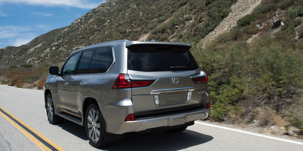 Retained values for such full-size luxury SUVs as the 2016 Lexus LX fell by nearly a full...