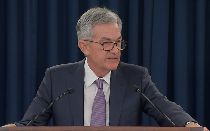 Federal Reserve Board Chairman Jerome Powell announced a quarter-point reduction to the federal funds rate Wednesday. 