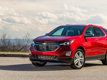No. 1: Q4's most popular lease vehicle was also its most affordable: The Chevrolet Equinox...