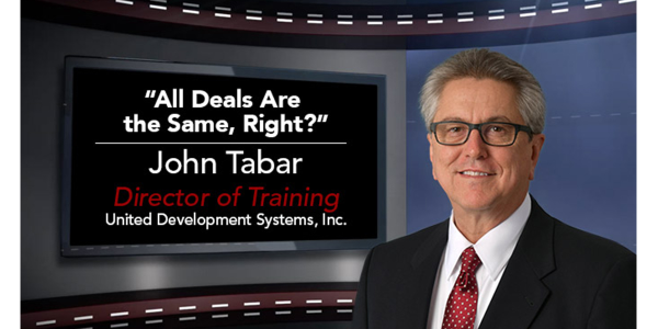 A recent dealership visit proved to UDS's John Tabar that opportunities for F&I product sales...