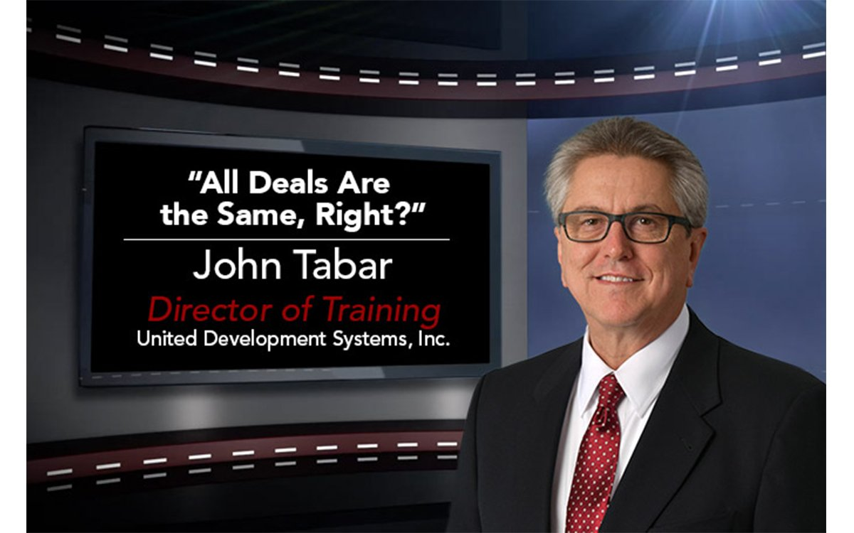 F&I Tip of the Week: All Deals Are the Same, Right?