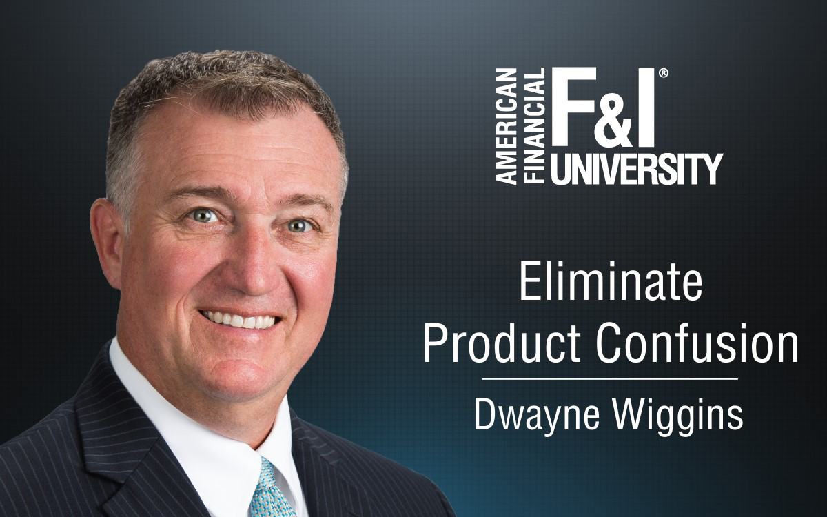 F&I Tip of the Week: Eliminate Product Confusion