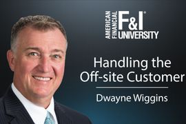 Handling the Off-Site Customer