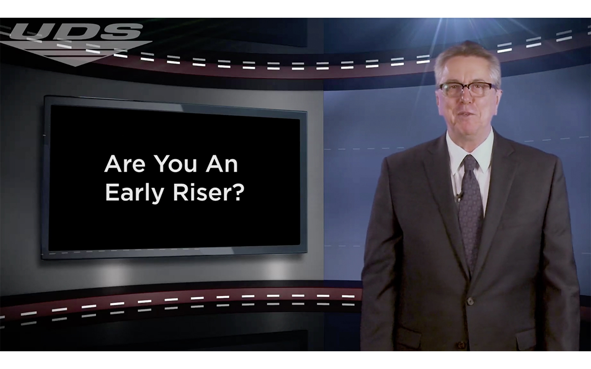Tip of the Week: Are You An Early Riser?