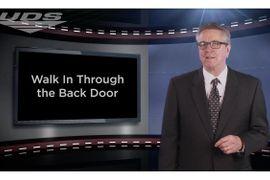 F&I Tip of the Week: Walk In Through the Back Door