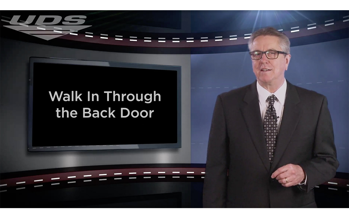 F&I Tip of the Week: Walk In Through the Back Door