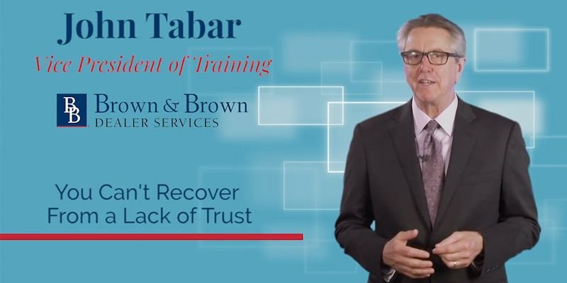 What is the #1 reason people decide not to enroll in any products? Join John Tabar in this F&I...