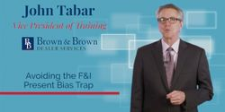 """F&I managers are faced with constant responsibilities that compete for their time. Explore tactics to avoid the """"Present Bias"""" with John Tabar."""
