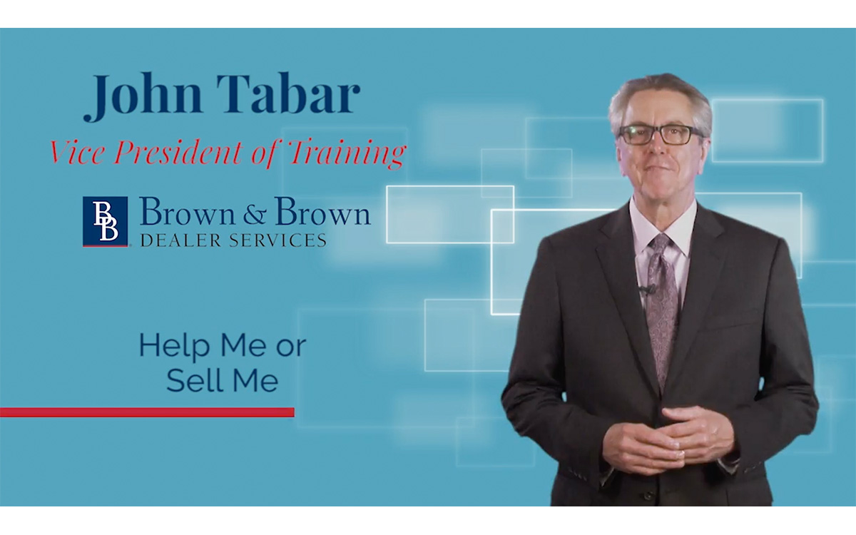 F&I Tip of the Week: Help Me or Sell Me