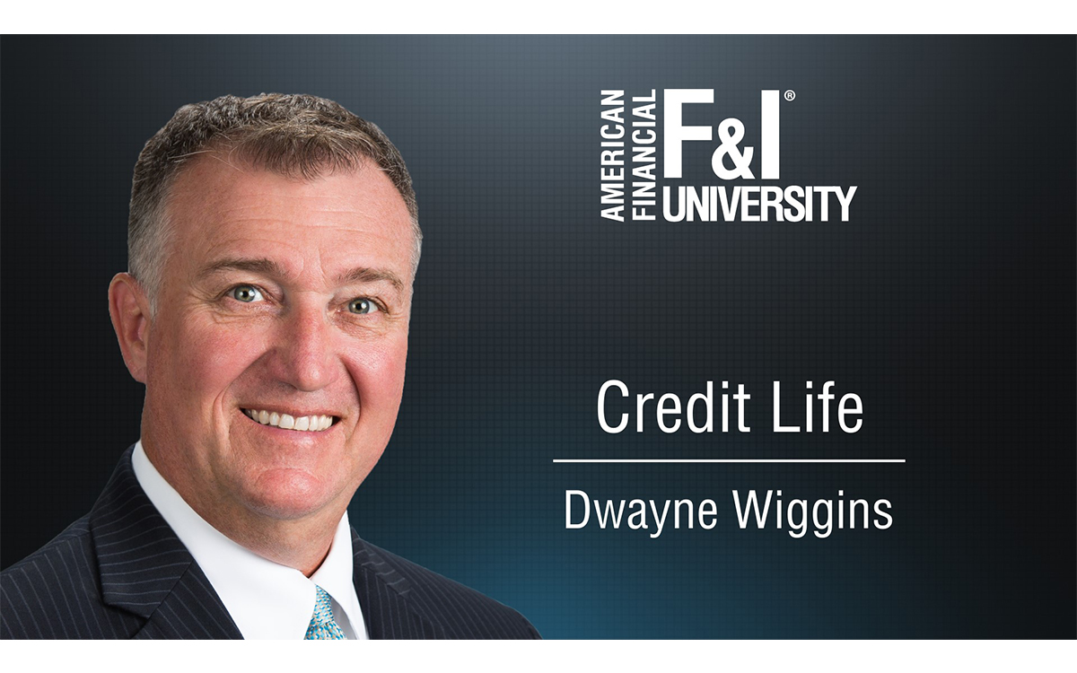 F&I Tip of the Week: Credit Life