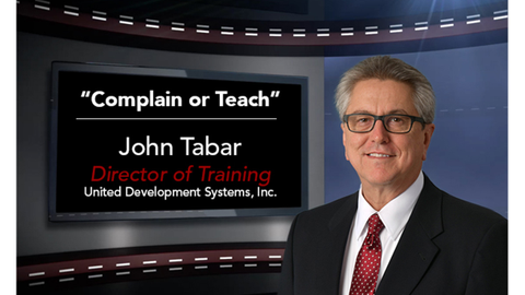 F&I Tip of the Week: Complain or Teach