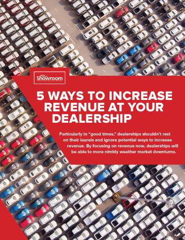 5 Ways to Increase Revenue at Your Dealership
